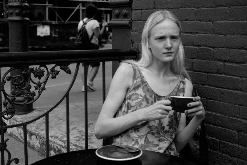 1. Borys Starosz w Nowym Jorku, czyli polscy modele i modelki w jego obiektywie - Maja Salamon