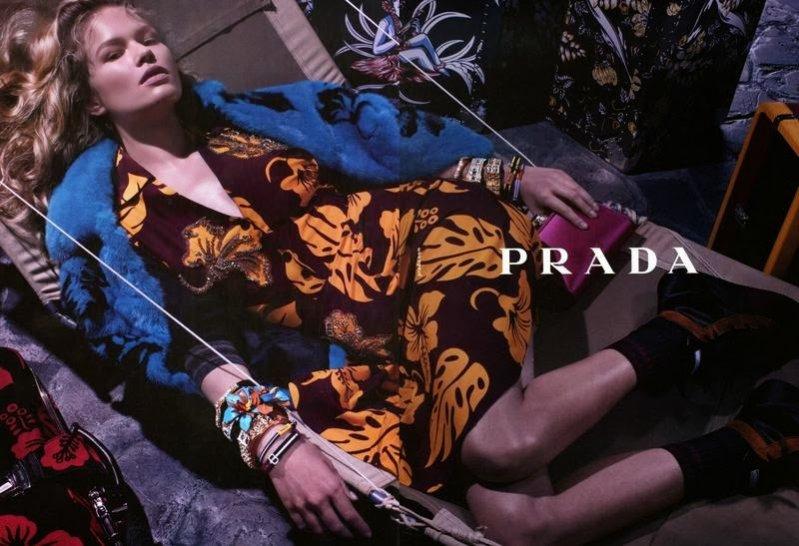 1. Prada - kampania Resort 2014