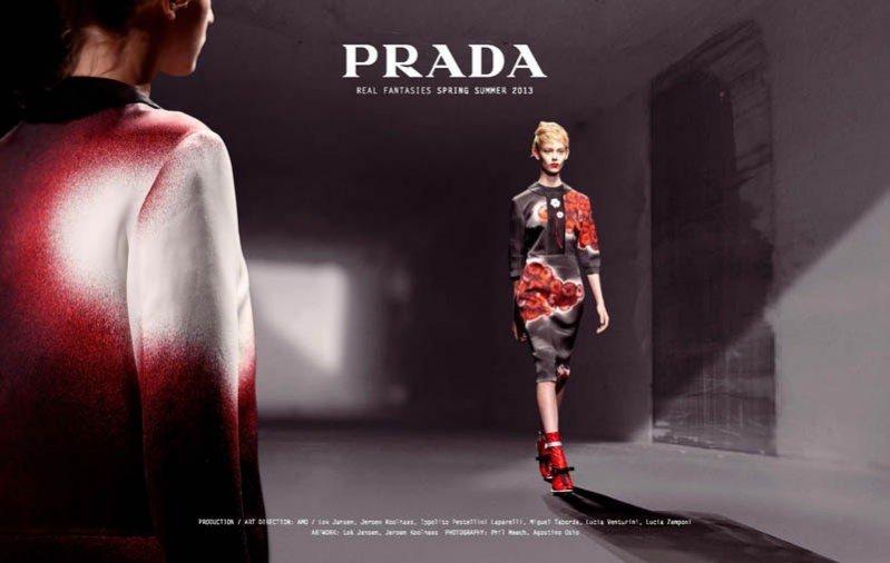 lookbook Prada wiosna lato 2013 - Real Fantasies