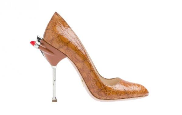 Kolekcja butów Prada na sezon wiosna lato 2012