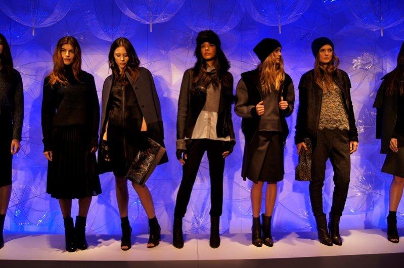 1. Prezentacja kolekcji Elie Tahari jesień zima 2014/2015 na New York Fashion Week