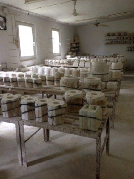 proces powstawania nowej kolekcji Anny Orskiej - Craft z ceramiką Bolesławiec