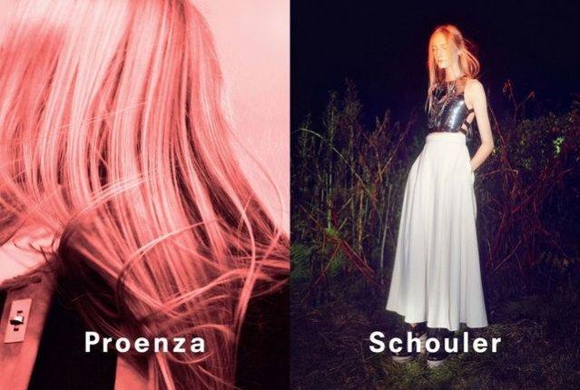 1. Proenza Schouler - kampania wiosna lato 2014