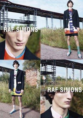 RAF SIMONS – KAMPANIA WIOSNA LATO 2014