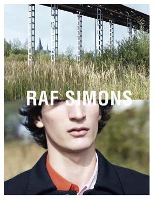 1. RAF SIMONS – KAMPANIA WIOSNA LATO 2014