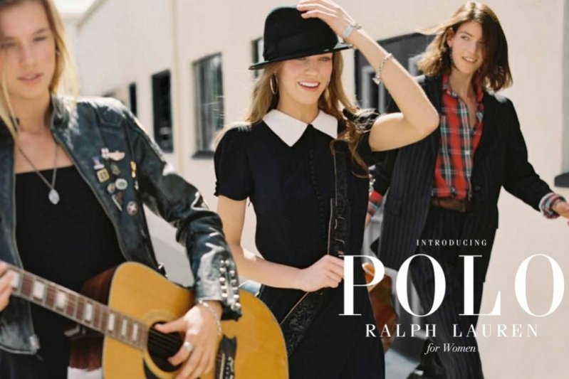 1. Ralph Lauren Polo Women - pierwsza kampania nowej linii