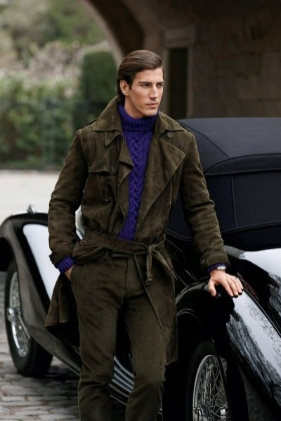 Kampania Ralph Lauren Purple Label jesień zima 2012/13