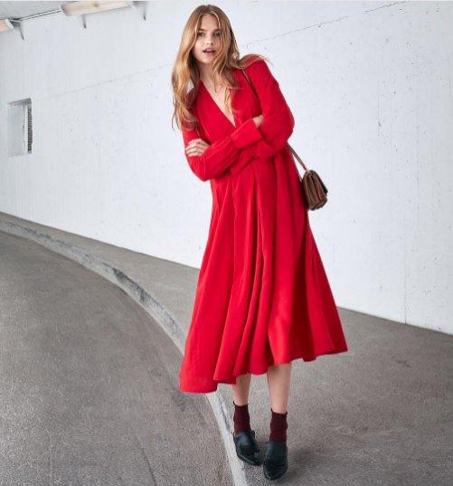 Zdjęcie z kampanii szwedzkiej marki H&M