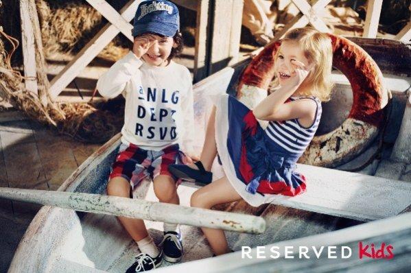 Kolekcja Reserved dla dzieci na sezon wiosna lato 2012
