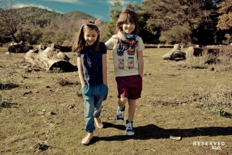 1. Reserved Kids - kampania wiosna lato 2015