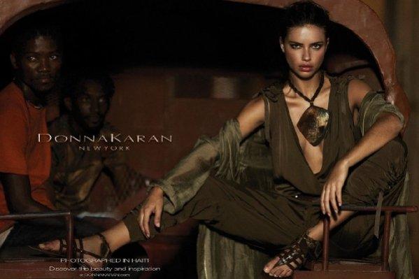 Adriana Lima twarzą kampanii Donna Karan na sezon wiosna lato 2012