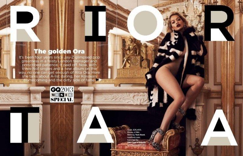 Rita Ora w sesji okładkowej dla GQ UK