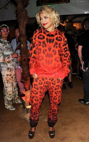 1. Rita Ora - zoom na styl