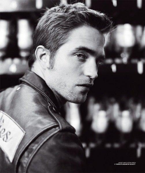 Robert Pattinson w sesji dla BlackBook Magazine