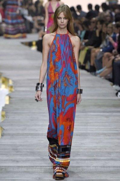 1. Roberto Cavalli - kolekcja wiosna lato 2015
