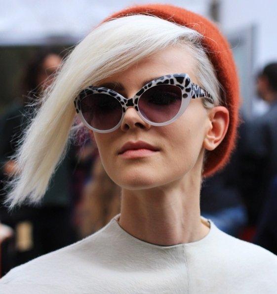 Stylizacja off duty Ruby Jean Wilson po pokazie Louis Vuitton wiosna lato 2013