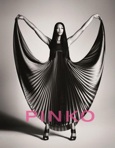 Naomi Campbell w kampanii Pinko wiosna lato 2012