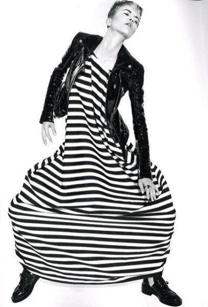 modelka Marethe (Marylin New York), stylizacja Vanessa Coyle