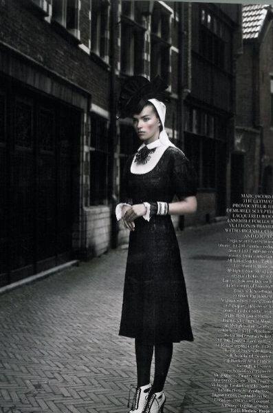 Sesja Master Class z udziałem Frei Behy Ercihsen i Arizony Muse dla Vogue UK