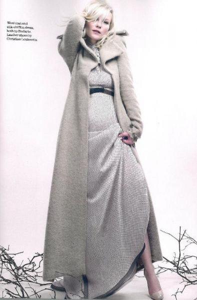 Kirstin Dunst w sesji Elle UK