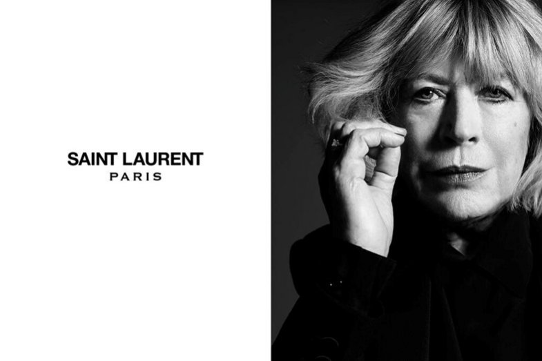 Marianne Faithfull Saint Laurent Music Project