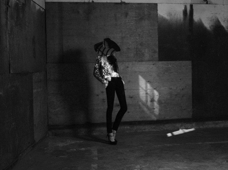 Julia Nobis w kampanii Saint Laurent Paris wiosna lato 2013
