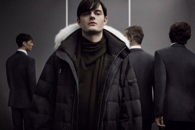 1. Sam Riley w kampanii jesienno-zimowej kolekcji 2014 Ermenegildo Zegna Couture