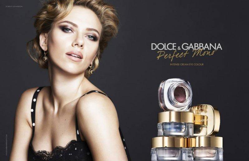 """1. Scarlett Johansson w kampanii cieni do powiek """"Perfect Mono"""