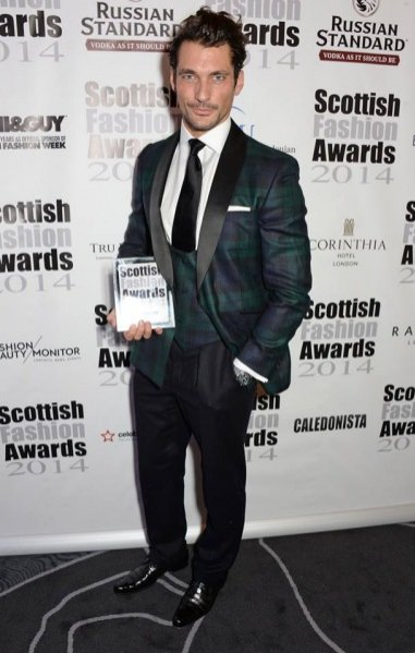 Scottish Fashion Awards 2014 -David Gandy