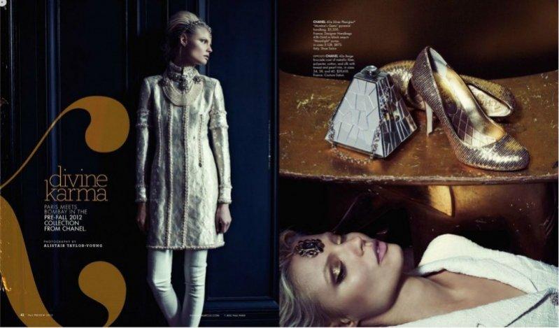 Magdalena Frąckowiak w katalogu sklepu Neiman Marcus