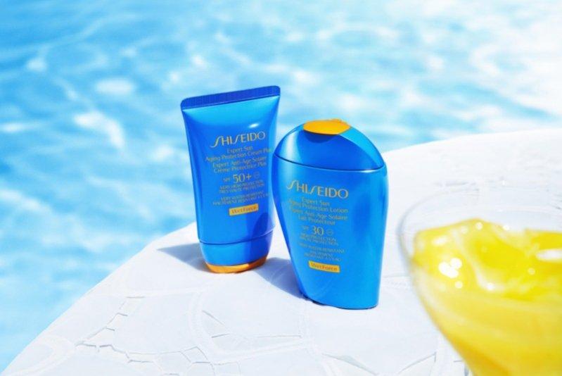 1. Shiseido - linia profesjonalnych kosmetyków na lato