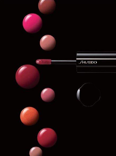 pomadka w płynie Shiseido Lacquer Rouge