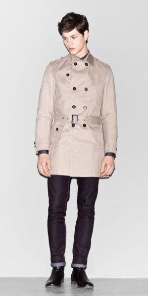Lookbook męskiej kolekcji Sisley jesien zima 2012/13