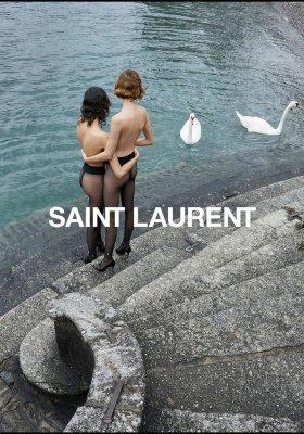 SAINT LAURENT – ZMYSŁOWA KAMPANIA JUERGENA TELLERA LATO 2019