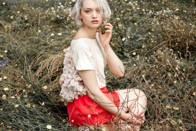 Anna Pitchouguina kapsułowa kolekcja wiosna lato 2013