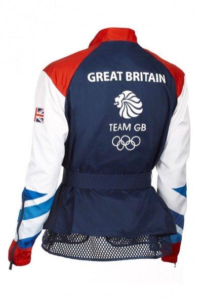 Kolekcja uniformów dla drużyny olimpijskiej Wielkiej Brytanii zaprojektowana przez Stellę McCartney