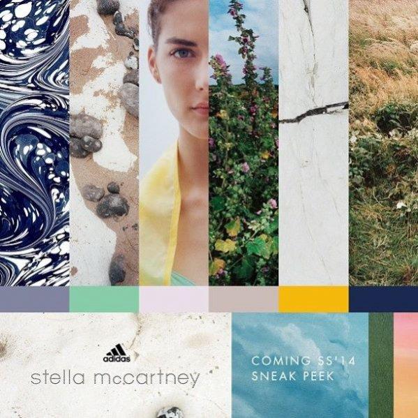 1. Stella McCartney dla marki Adidas - kampania kolekcji wiosna lato 2014