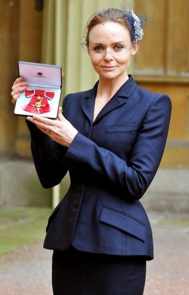 Stella McCartney odznaczona Orderem Imperium Brytyjskiego