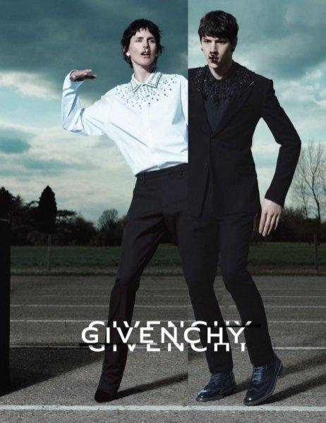 Kampania Givenchy jesień zima 2012