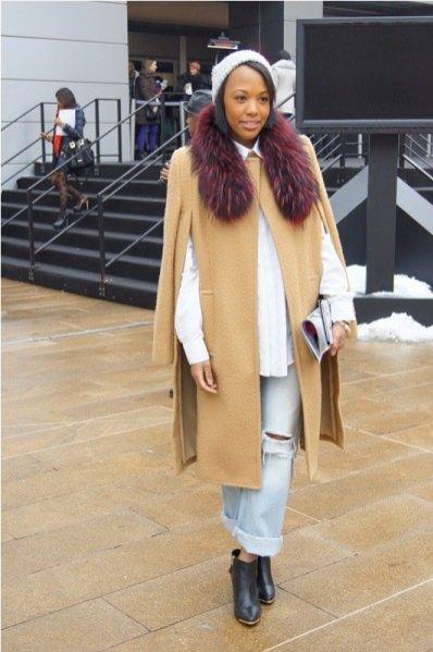 moda uliczna New York Fashion Week jesień zima 2013