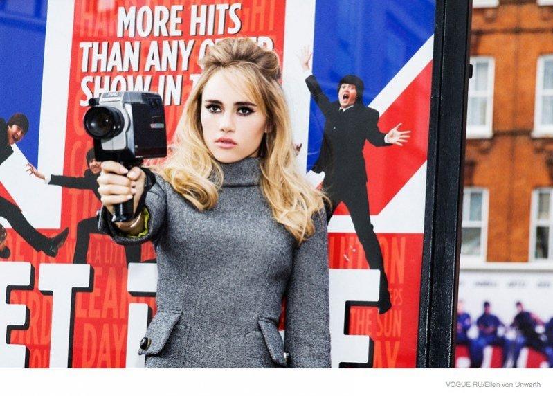 1. Suki Waterhouse w sesji dla Vogue Russia - listopad 2014