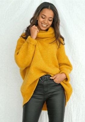 Swetry damskie polskiej marki Mosquito - propozycja na zimową stylizację