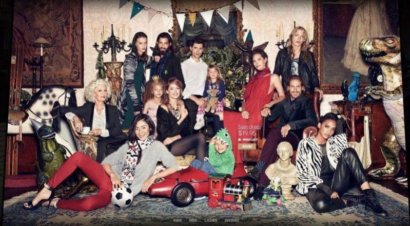 Świąteczno-sylwestrowa kampania H&M na rok 2013
