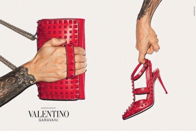 Terry Richardson dla Valentino - kampania akcesoriów jesień zima 2013/2014