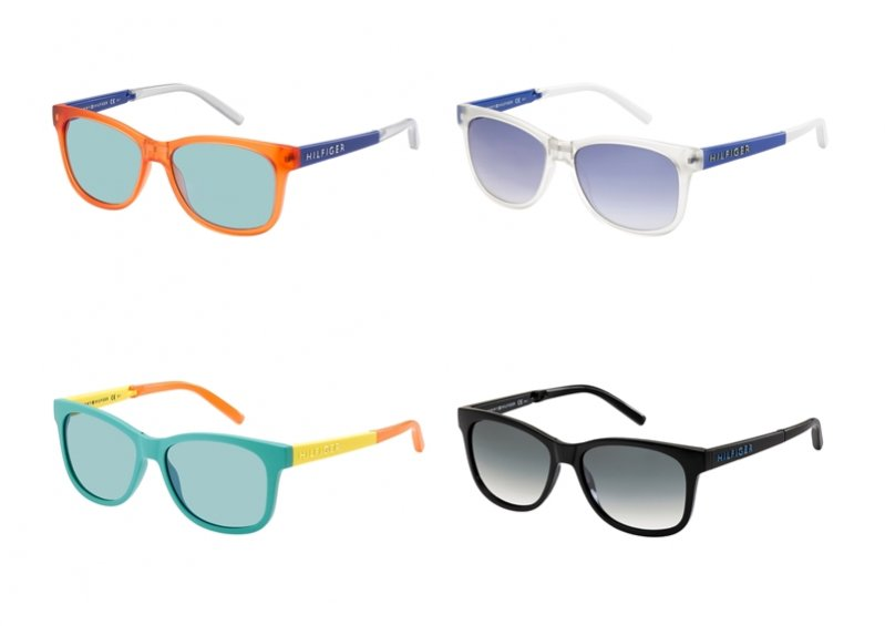 Okulary Tommy Hilfiger kolekcja Folding Sunglasses wiosna lato 2013