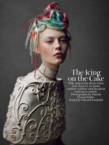 Portrety haute couture okiem Patricka Demarchelier w majowym W Magazine