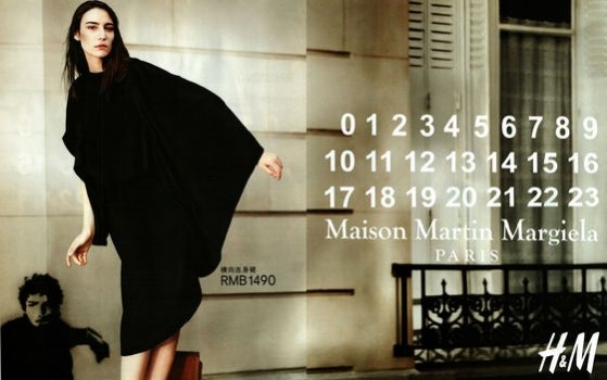kampania Maison Martin Margiela dla H&M