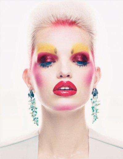 Daphne Groeneveld w Vogue UK
