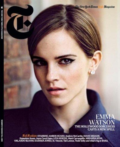 Emma Watson w The New York Times T Style Magazine