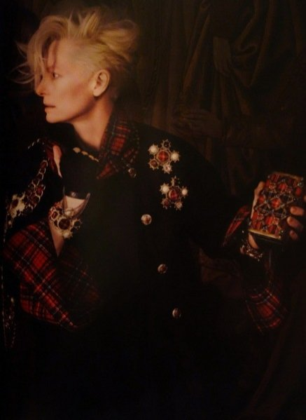 CHANEL PARIS-EDINBURGH 2013 z Tildą Swinton